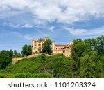 hohenschwangau castle in germany | Shutterstock . vector #1101203324