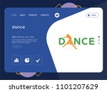 quality one page dance website...