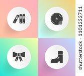 modern  simple vector icon set... | Shutterstock .eps vector #1101233711