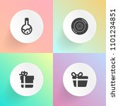 modern  simple vector icon set... | Shutterstock .eps vector #1101234851