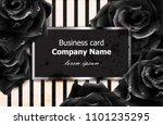 Black Roses Business Card...