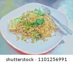mama fried thai fried mama ... | Shutterstock . vector #1101256991