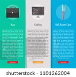 multimedia vertical banner... | Shutterstock .eps vector #1101262004
