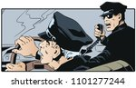 stock illustration. police... | Shutterstock .eps vector #1101277244