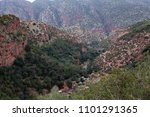 beautiful valley in the... | Shutterstock . vector #1101291365