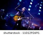 Radiohead performing at the...