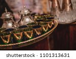 traditional moroccan tea and...   Shutterstock . vector #1101313631