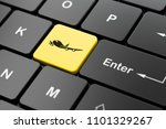 travel concept  computer... | Shutterstock . vector #1101329267