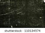 black old paper textures  ... | Shutterstock . vector #110134574