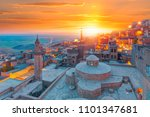 mardin old town at dusk   turkey | Shutterstock . vector #1101347681
