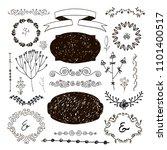 vector hand drawn doodle... | Shutterstock .eps vector #1101400517