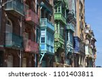 a selection of colourful... | Shutterstock . vector #1101403811