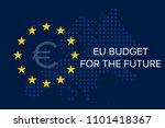 eu budget for the future | Shutterstock .eps vector #1101418367