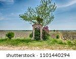 morey st. denis  france   april ... | Shutterstock . vector #1101440294