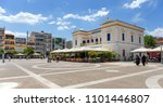 sparta  greece   may 26  the... | Shutterstock . vector #1101446807