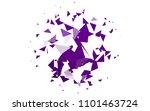 light purple vector of small... | Shutterstock .eps vector #1101463724