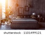 interior design concept of dark ... | Shutterstock . vector #1101499121