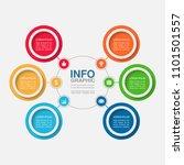 vector infographic template for ... | Shutterstock .eps vector #1101501557