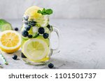 Infused Detox Water With Lemon...