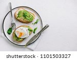 Avocado Sandwich With Poached...