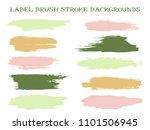 isolated label brush stroke... | Shutterstock .eps vector #1101506945