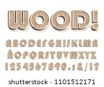 high quality vintage wooden... | Shutterstock .eps vector #1101512171