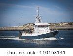 Fishing Boat Returning With...