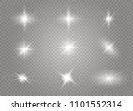 white glowing light burst... | Shutterstock . vector #1101552314