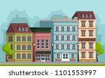 the landscape of the historic... | Shutterstock .eps vector #1101553997