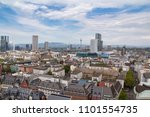 frankfurt city view from the top | Shutterstock . vector #1101554735