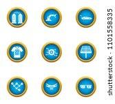 alternative energy icons set.... | Shutterstock .eps vector #1101558335