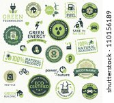 set of labels and elements for... | Shutterstock .eps vector #110156189