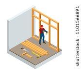 isometric professional... | Shutterstock .eps vector #1101566891