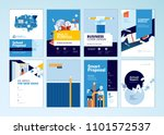brochure cover design and flyer ... | Shutterstock .eps vector #1101572537