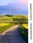 italy tuscany countryside  farm ... | Shutterstock . vector #1101574994