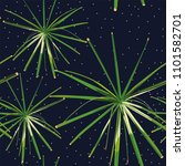 green tropical exotic plants... | Shutterstock .eps vector #1101582701