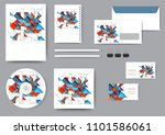 abstract corporate identity...   Shutterstock .eps vector #1101586061