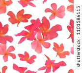seamless pattern with isolated... | Shutterstock . vector #1101586115