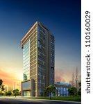 3d building   Shutterstock . vector #110160029