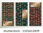 vector set packaging templates... | Shutterstock .eps vector #1101612839