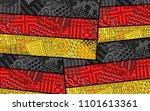 germany flag. deutschland... | Shutterstock .eps vector #1101613361