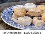 mantecado  polvoron y rosco de... | Shutterstock . vector #1101626081