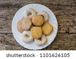 polvorones  mantecados and... | Shutterstock . vector #1101626105