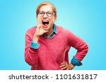 beautiful adult blonde woman... | Shutterstock . vector #1101631817