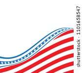 united states flag.  american... | Shutterstock .eps vector #1101658547