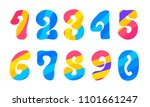 bright hippie psychedelic... | Shutterstock .eps vector #1101661247