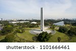 obelisk in the great cities of... | Shutterstock . vector #1101666461