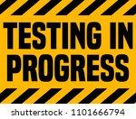 testing in progress industrial...   Shutterstock .eps vector #1101666794
