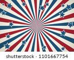 american patriotic background.... | Shutterstock .eps vector #1101667754