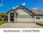 cottage building exterior... | Shutterstock . vector #1101675824